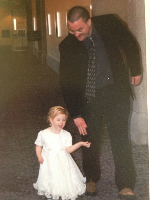 Walking my daughter down the aisle
